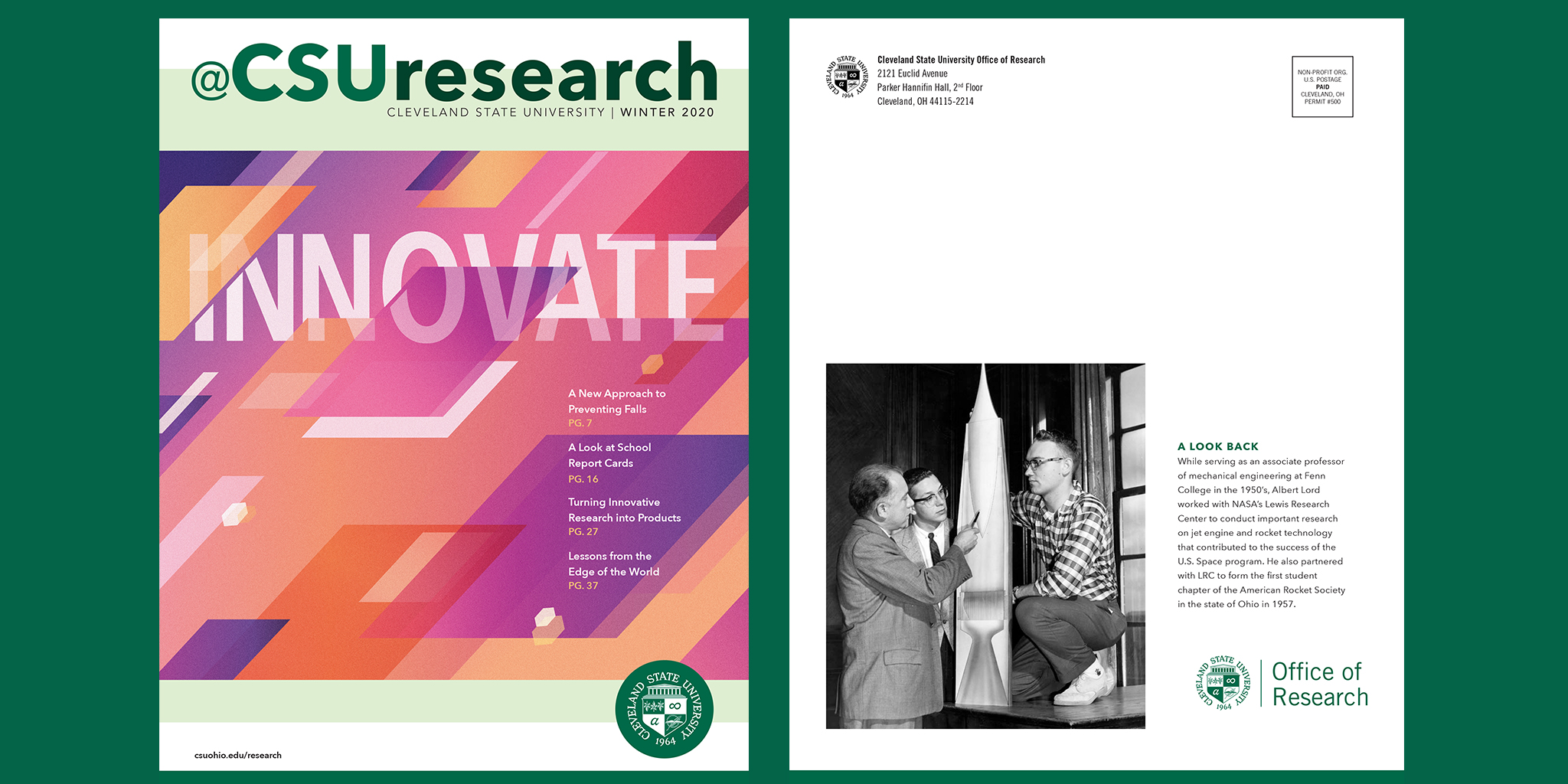 CSU Research Magazine